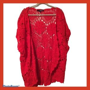 Denim 24/7 Crocheted  vest
